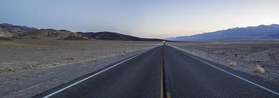 Desert Road Art Print by Brad Scott