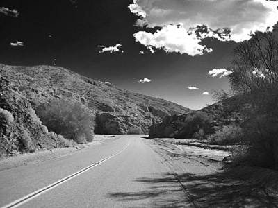 Photograph - Desert Road by Dave Hall