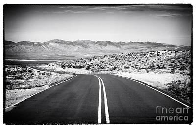 Photograph - Desert Road by John Rizzuto