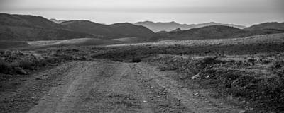 Photograph - Desert Road by Ryan Heffron