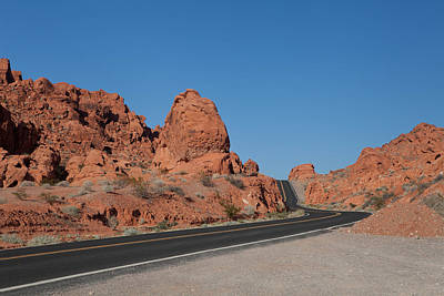 Desert Rock Formations Art Print
