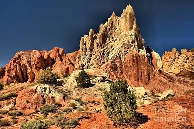 Photograph - Desert Rock Rainbows by Adam Jewell