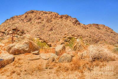 Desert Rocks Art Print by Deborah Smolinske