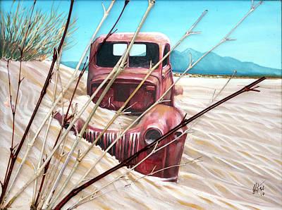 Desert Rose Art Print by Gregory Peters