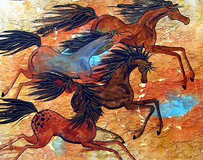 Desert Run Original by Elizabeth C Sullivan
