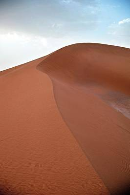 Moroccan Photograph - Desert Sand Dune by Jon Wilson