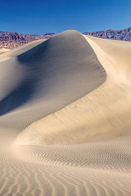 Photograph - Desert Sand Dunes by Pierre Leclerc Photography