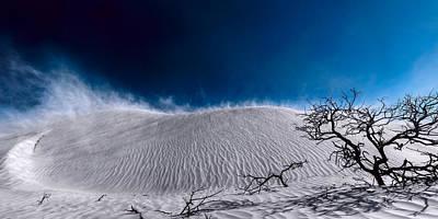 Photograph - Desert Sandstorm by Julian Cook