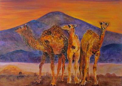 Painting - Desert Scene by Susan Duxter