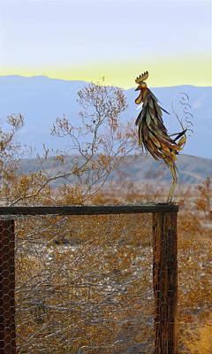 Desert Sentinel Art Print by Dan Redmon