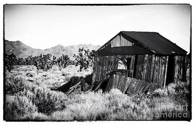 Photograph - Desert Shack by John Rizzuto