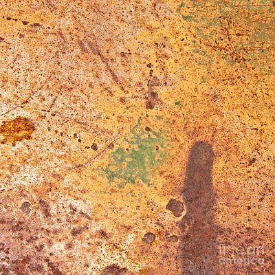 Photograph - Desert Shadows Abstract Square by Lee Craig