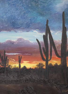 Desert Silhouette Original