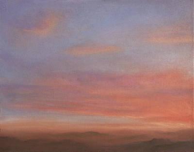 Pastel - Desert Sky A by Michael Heikkinen