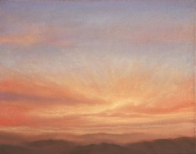 Pastel - Desert Sky B by Michael Heikkinen