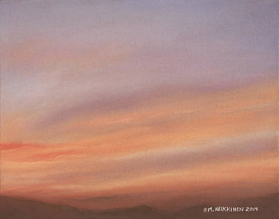 Pastel - Desert Sky C by Michael Heikkinen