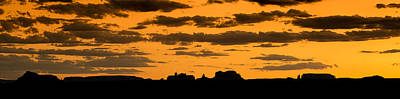 Desert Sunset Photograph - Desert Sky Panorama by Steve Gadomski
