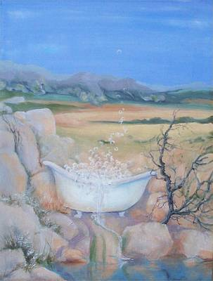 Painting - Desert Spa by Irene Corey