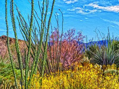 Splendor Painting - Desert Splendor by Dominic Piperata