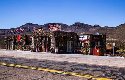 Wild Weather - Desert Station by Angus Hooper Iii