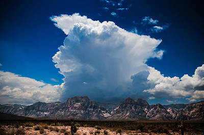 Art Print featuring the photograph Desert Storm by Chris McKenna