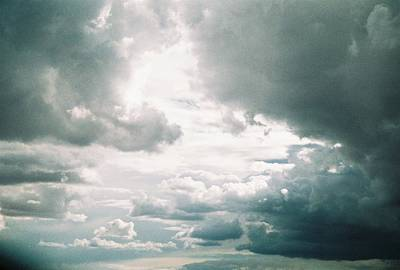 Photograph - Desert Storm Clouds by Belinda Lee