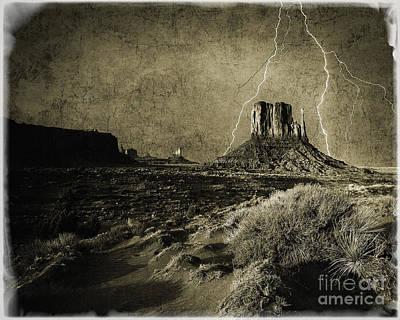 Photograph - Desert Storm by Edmund Nagele