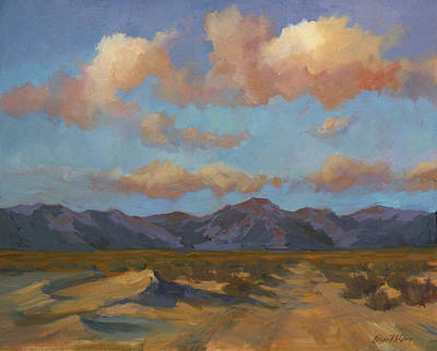 Desert Sunrise Art Print by Diane McClary