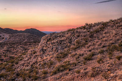 Photograph - Desert Sunrise by JC Findley