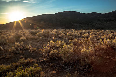 Photograph - Desert Sunrise by Ryan Heffron