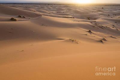 Moroccan Photograph - Desert Sunrise by Yuri Santin