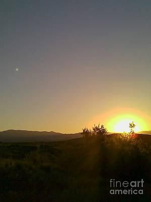 Photograph - Desert Sunset by Fred Wilson