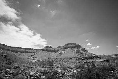 Photograph - Desert Terrain by Nathan Hillis