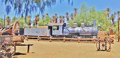 Photograph - Desert Train by Marilyn Diaz