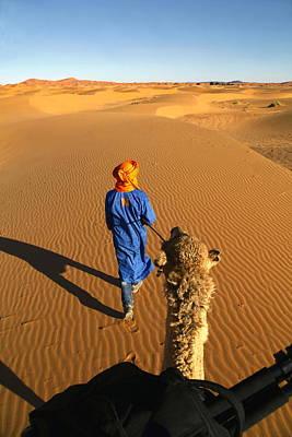 Photograph - Desert Trek by Sophie Vigneault