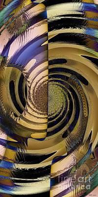 Desert Twist Art Print