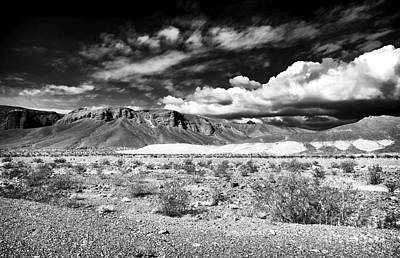 Photograph - Desert View At Death Valley by John Rizzuto