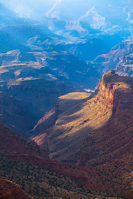 Photograph - Desert View Fades Into The Distance by Ed Gleichman