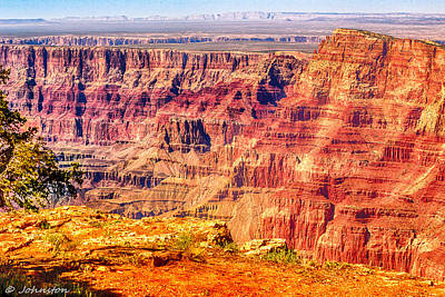Photograph - Desert View Navajo Point Grand Canyon National Park by Bob and Nadine Johnston