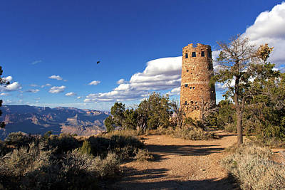 Photograph - Desert View Tower by Lou Ford