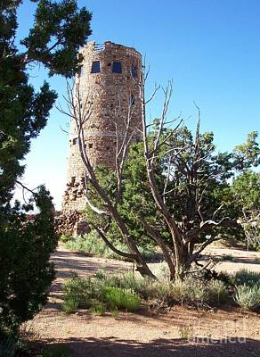 Neurotic Images Photograph - Desert View Watchtower by Chalet Roome-Rigdon
