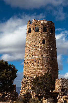 Photograph - Desert View Watchtower by Ed Gleichman