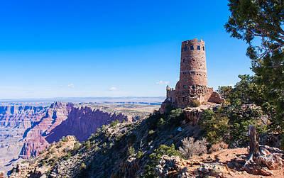 Photograph - Desert View Watchtower Overlook by John M Bailey