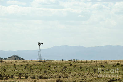 Photograph - Desert Windmill by Mark Avery