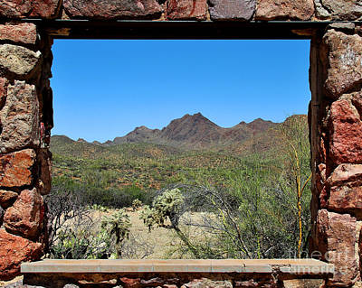 Photograph - Desert Window by Jemmy Archer