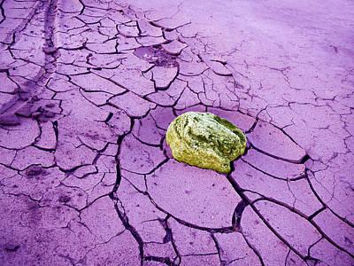 Amber Desert Painting - Desert Winter by Dan Redmon