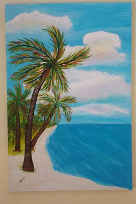 Painting - Deserted Beach by Patti Lauer