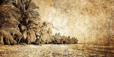Dream Photograph - Deserted Beach by Skip Nall