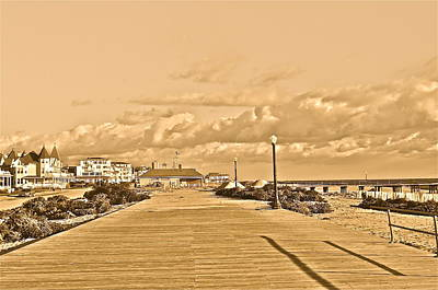 Photograph - Deserted Beach Town by Joe  Burns