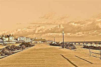 Photograph - Deserted Beach Town by Joe  Burns